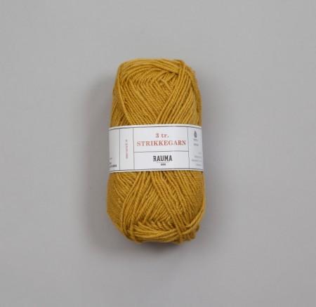 Rauma 3-tråds strikkegarn